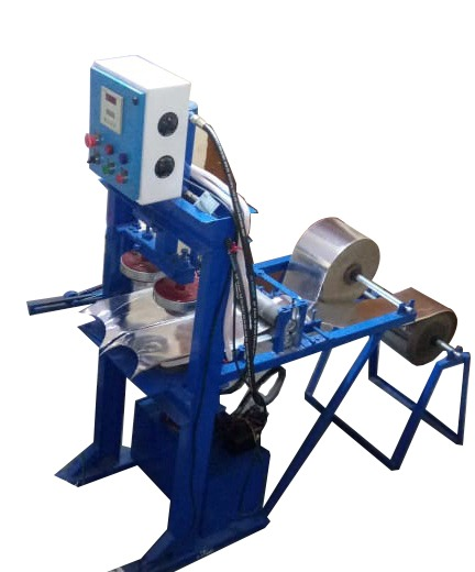 Double Die Fully Automatic Hydraulic Paper Plate Machine